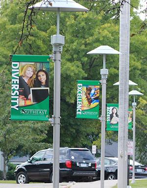 College Banners - Outdoor