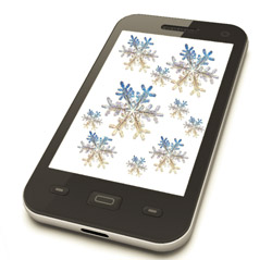Winter Phone