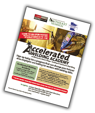 Accelerated Welding Academy Flyer