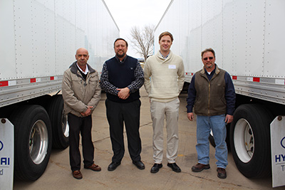 Tom Gierok, Tim Carroll, Travis Thul, and Casey Mann
