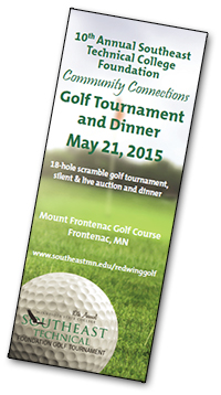 2015 golf tournament brochure - red wing