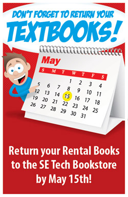 Textbook Rental Returns spring 2013