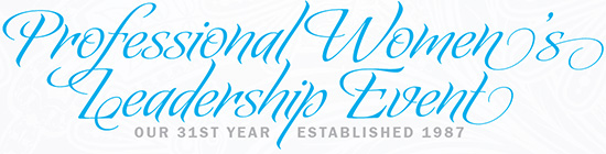Professional Women's Leadership Event 2017