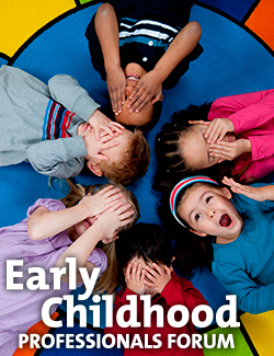 Early Childhood Professionals Forum 2015 - Brochure Cover