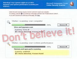 Virus Protection Scam