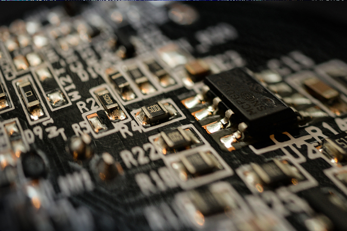 Dark circuit board - Photo by Skitterphoto from Pexels